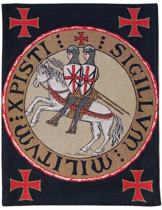 Tapiserie Cavaler Templier [0]