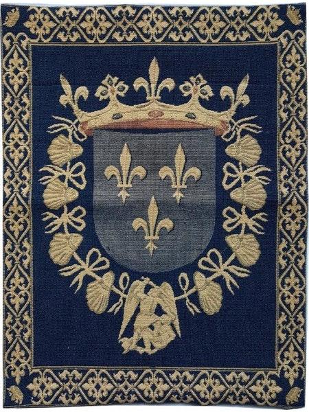Tapiserie cu blazonul casei regale a Frantei [0]