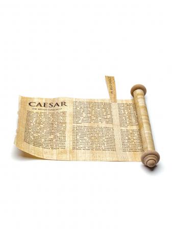 Papirus De bello Gallico [0]
