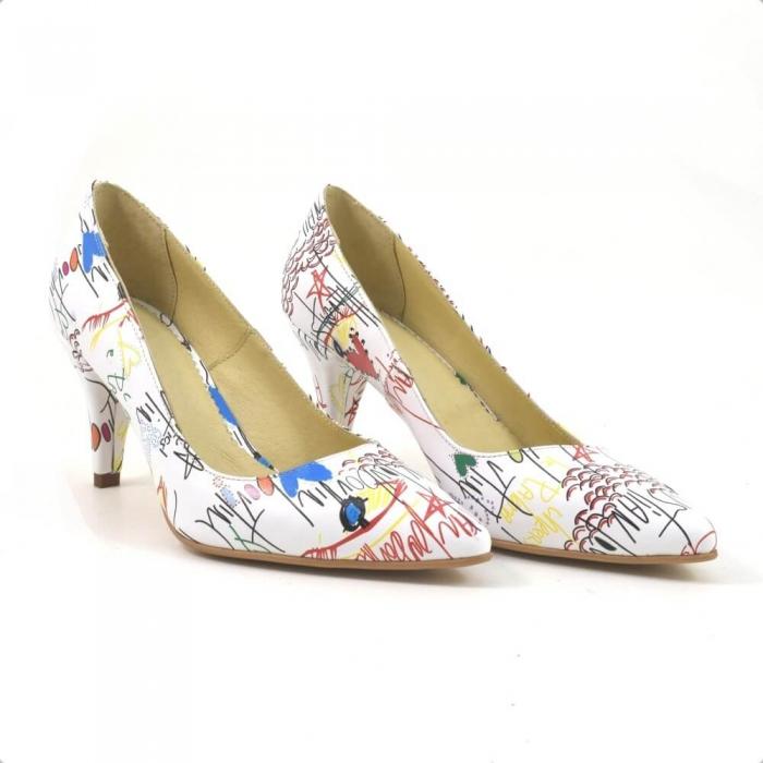 Pantofi dama piele naturala Cristine 0