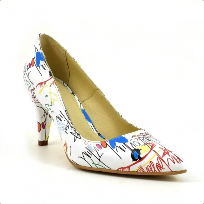 Pantofi dama piele naturala Cristine 2