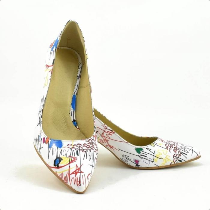 Pantofi dama piele naturala Cristine 3