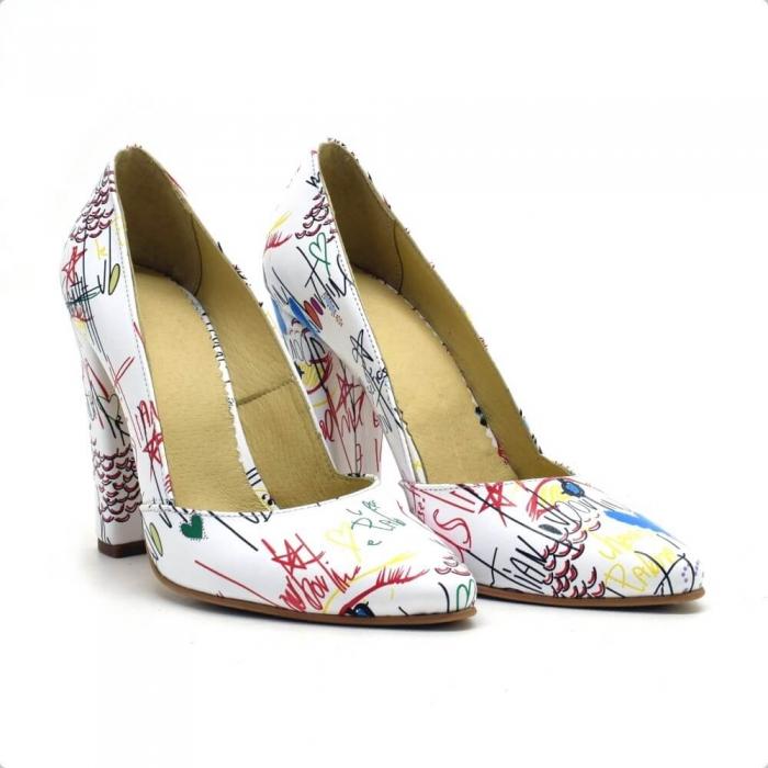 Pantofi dama din piele naturala Melanie 0