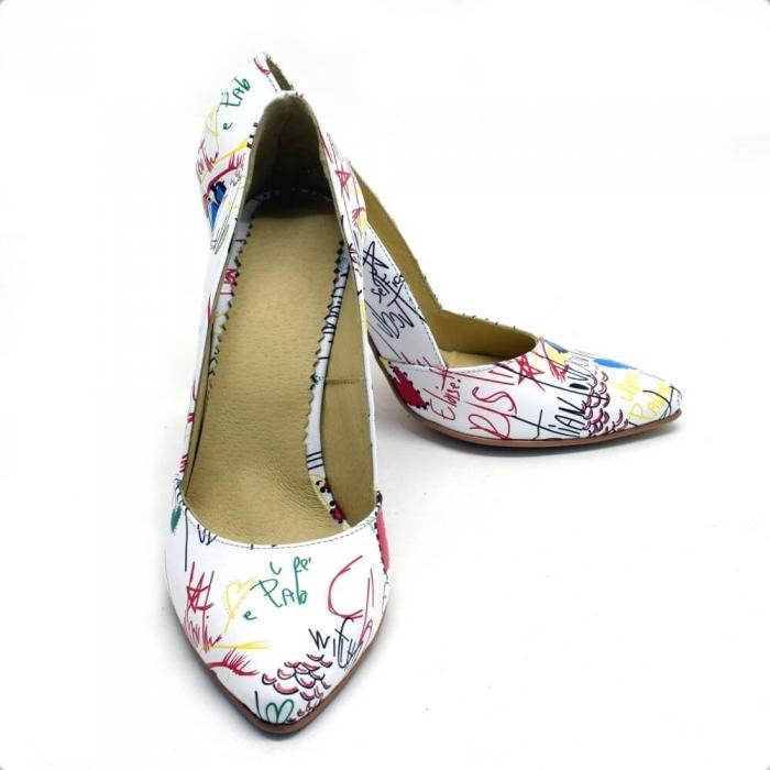 Pantofi dama din piele naturala Melanie 3
