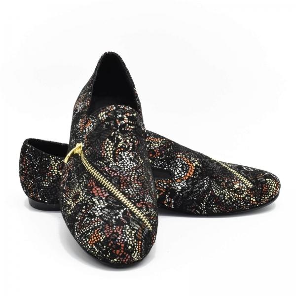 Pantofi cu talpa joasa din piele naturala Zappier 3