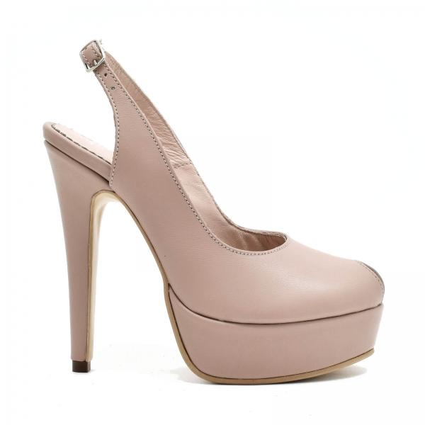 Pantofi din piele naturala Beatrice 1