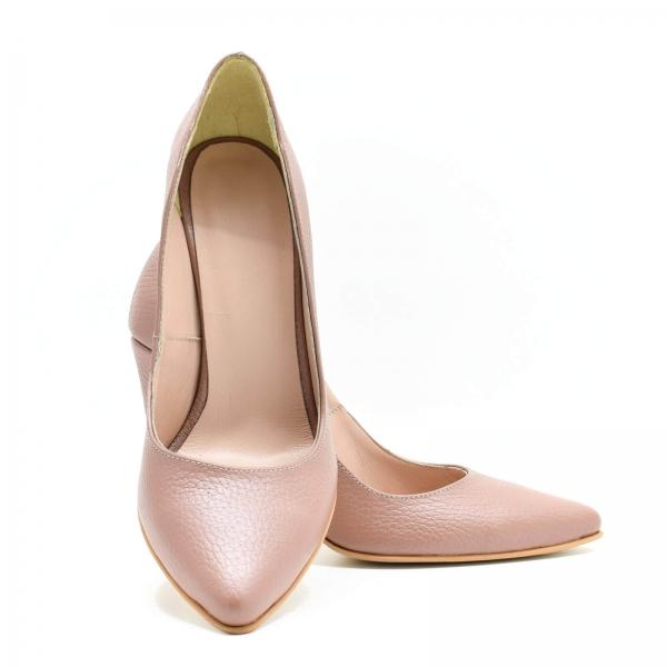 Pantofi din piele naturala Beatrice 4