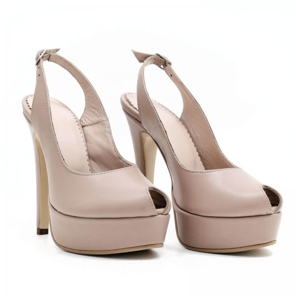 Pantofi din piele naturala Beatrice 0