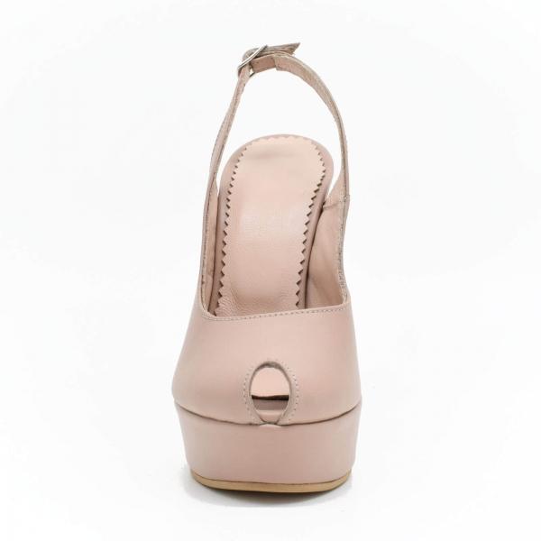 Pantofi din piele naturala Beatrice 3