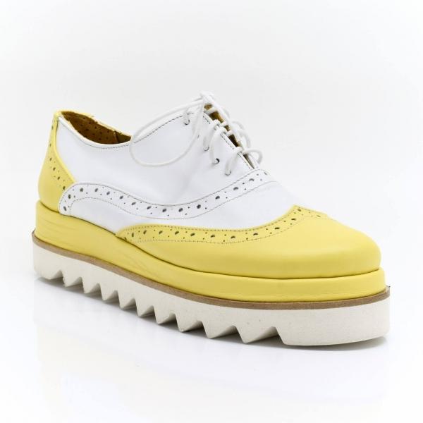 Pantofi din piele naturala Melinda 2
