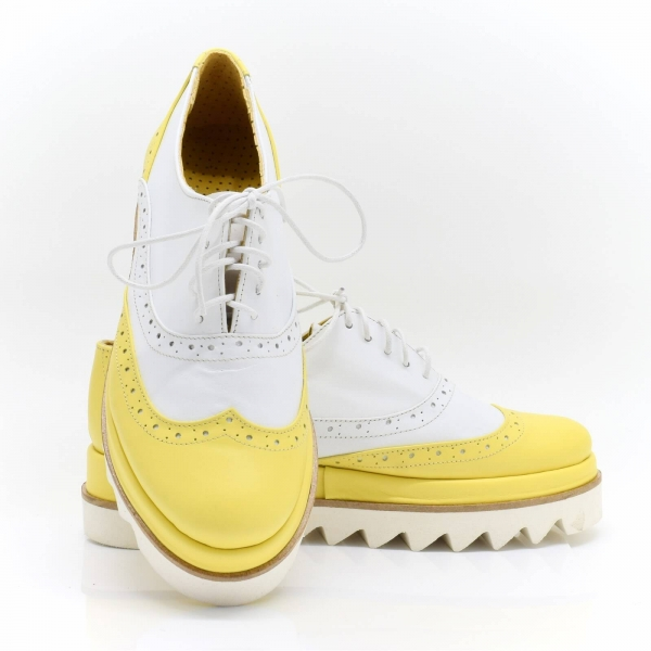 Pantofi din piele naturala Melinda 3