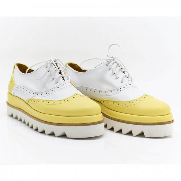 Pantofi din piele naturala Melinda 0