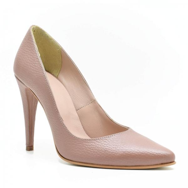 Pantofi din piele naturala Prime Stiletto 2