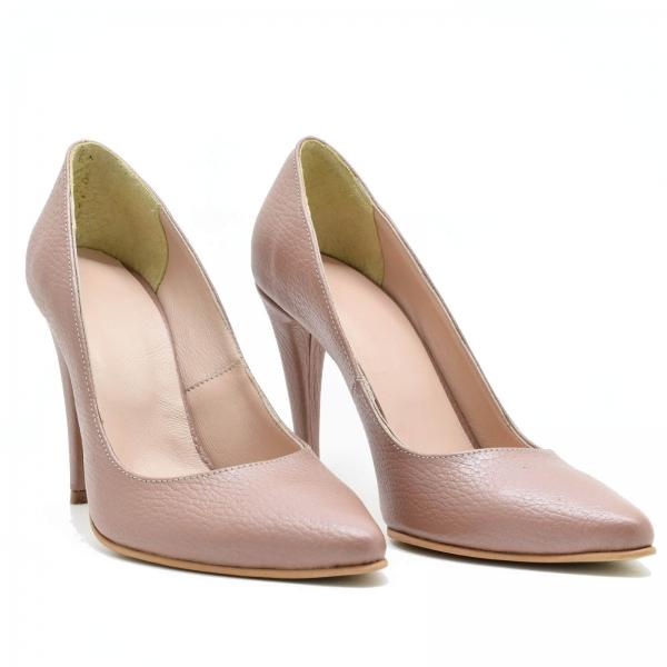 Pantofi din piele naturala Prime Stiletto 0
