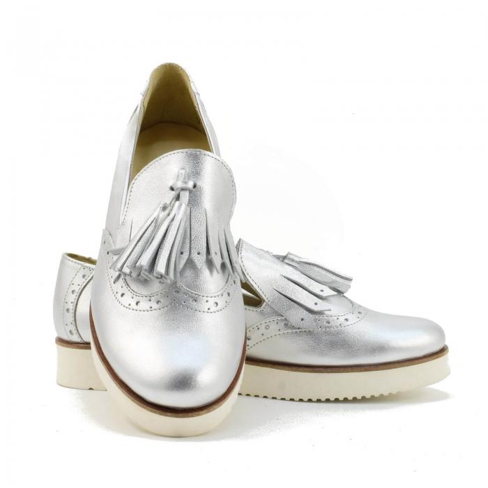 Pantofi din piele naturala Simonne 2 3