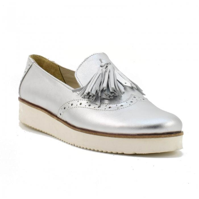Pantofi din piele naturala Simonne 2 2