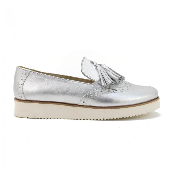 Pantofi din piele naturala Simonne 2 1