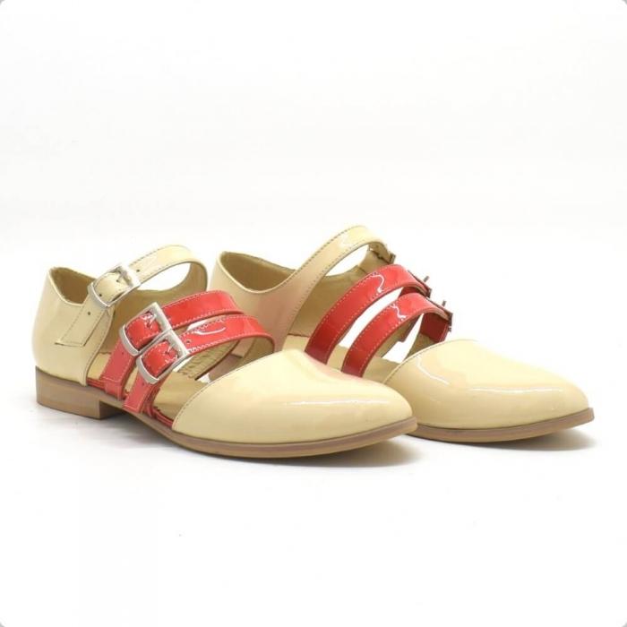 Sandale din piele naturala Adela (S 212) 0