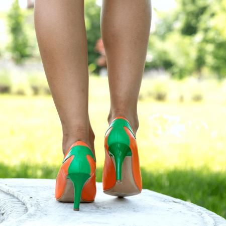 Pantofi Stiletto Sunset Joy CZ 082
