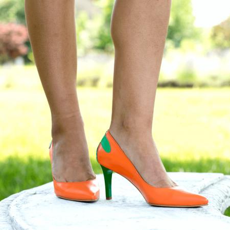 Pantofi Stiletto Sunset Joy CZ 080