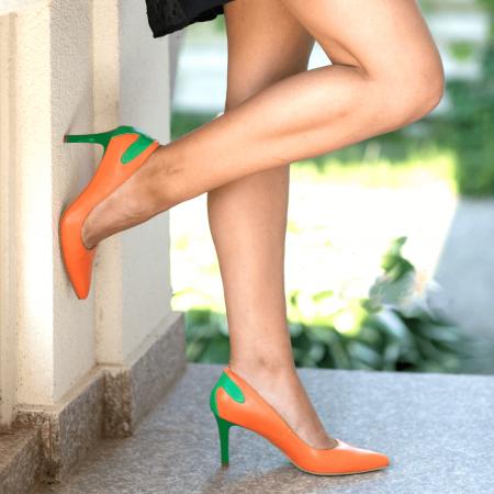 Pantofi Stiletto Sunset Joy CZ 081