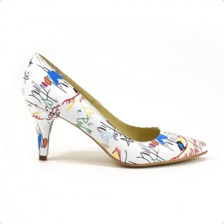 Pantofi dama piele naturala Cristine1
