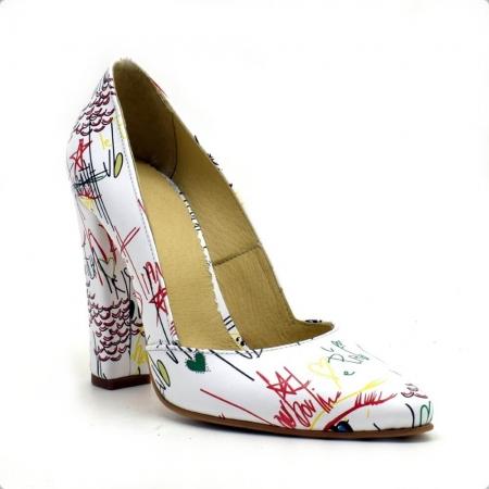 Pantofi dama din piele naturala Melanie2