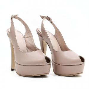 Pantofi din piele naturala Beatrice0