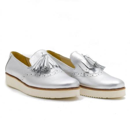 Pantofi din piele naturala Simonne 20