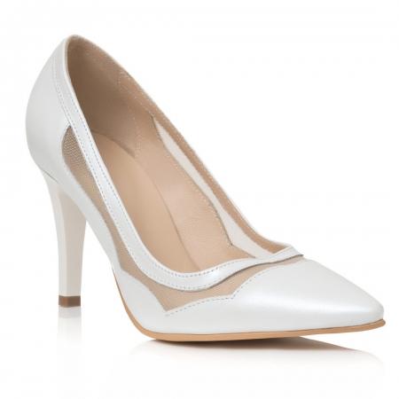 Pantofi Stiletto Be My Bride CZ 180
