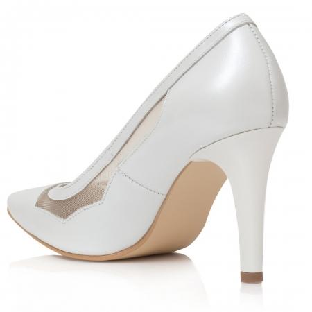 Pantofi Stiletto Be My Bride CZ 182
