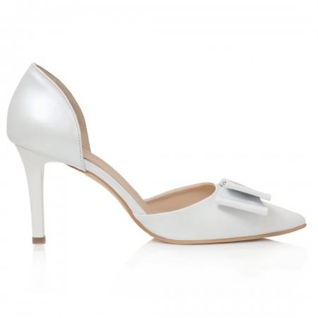 Pantofi Stiletto Little Bride CZ 171