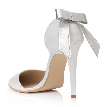Pantofi Stiletto Lovely Bride CZ 161