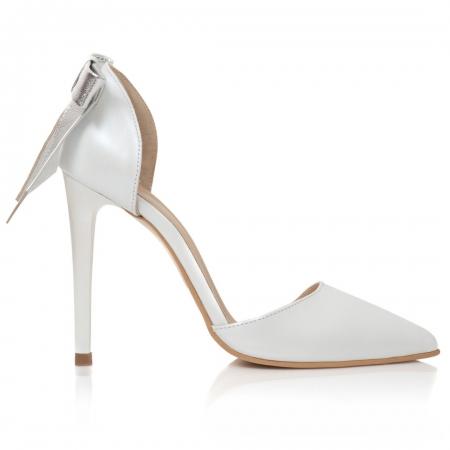 Pantofi Stiletto Lovely Bride CZ 162