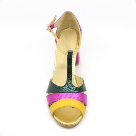 Sandale din piele naturala Beaty Chic2