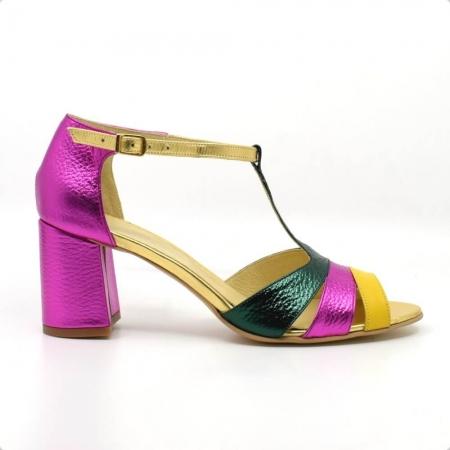 Sandale din piele naturala Beaty Chic1