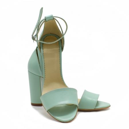 Sandale dama din piele Turcoaz, Lyly3