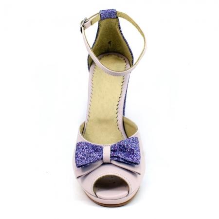 Sandale din piele naturala Silvianna ( GM 1902)2