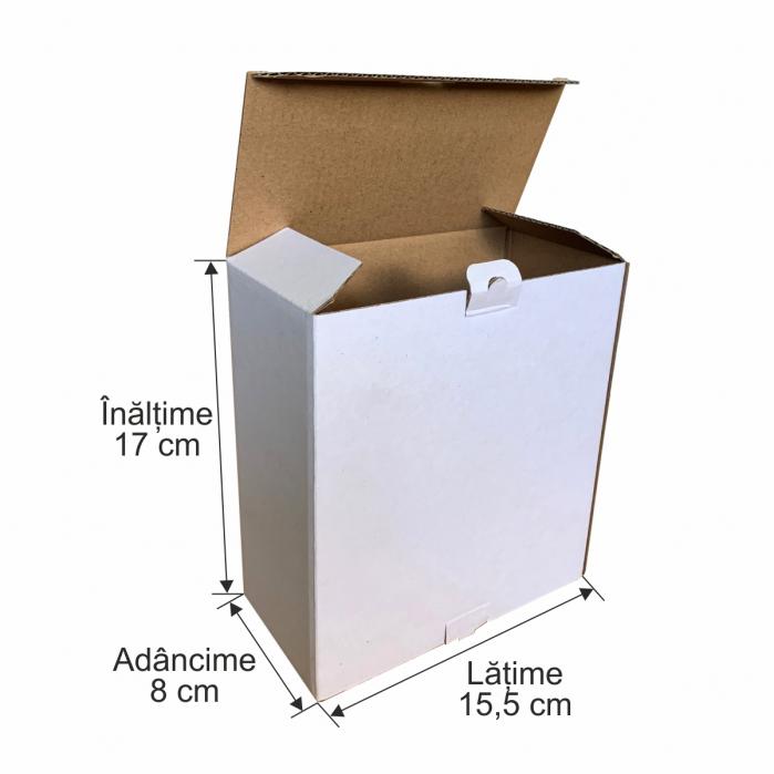 Cutie de carton microondul pentru expedieri 0