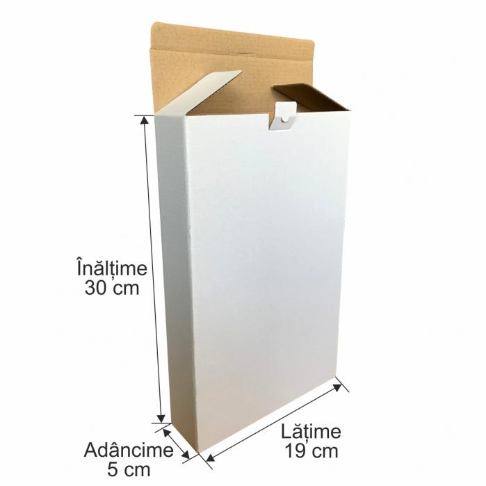 Cutie de carton microondul pentru expedieri 30x19x5 cm 1