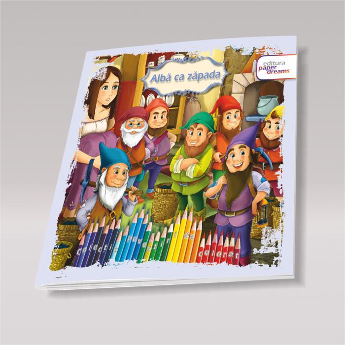 Set 12 carti de colorat si povesti pentru copii - Povestiri de colorat 8