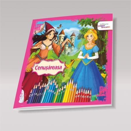 Pachet 12 carti de colorat si povesti - Povestiri de colorat2