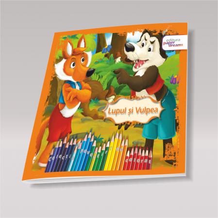 Pachet 12 carti de colorat si povesti - Povestiri de colorat5