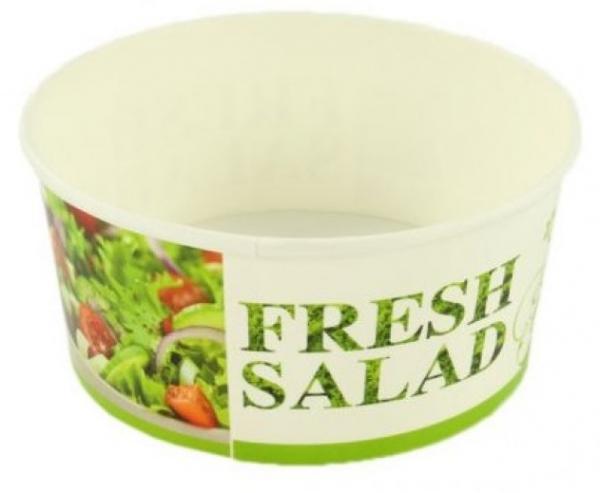 Bol salată carton + capac FRESH [0]
