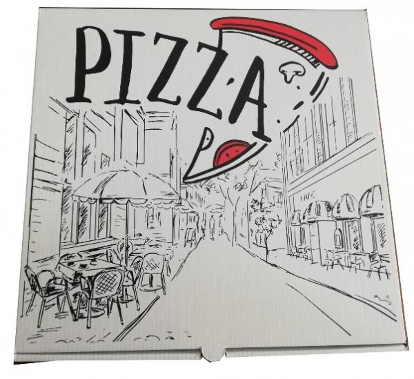 Cutie pizza urban ALBĂ 0