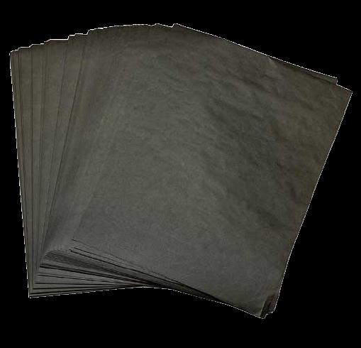 Hârtie rezistentă la grasime(bicerată) NEAGRĂ 0