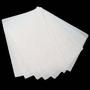 Hârtie rezistentă la grasime(bicerată) ALBĂ 0