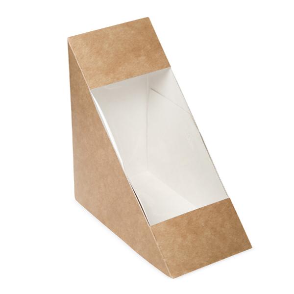 Cutie triunghi sandwich - carton natur [0]
