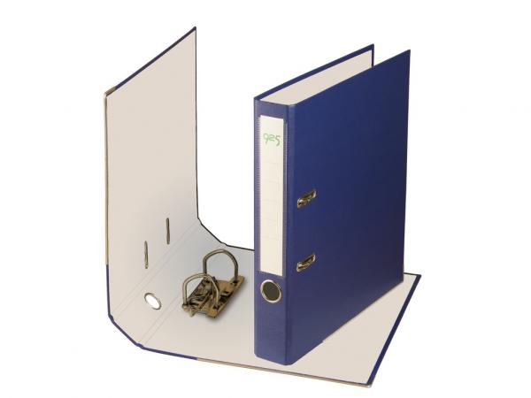Biblioraft plastifiat 50 mm - Albastru 0