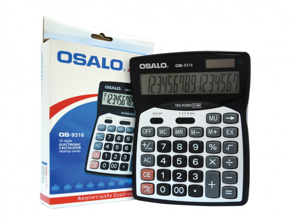 Calculator 16 digits Osalo OS9316 0